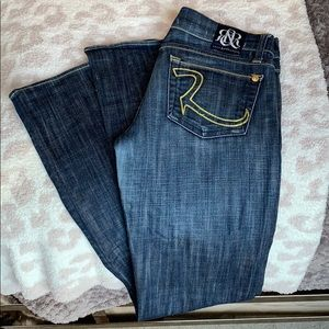 Rock & Republic Dark Flare Jeans